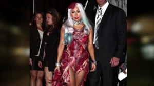 lady gaga´s meat dress